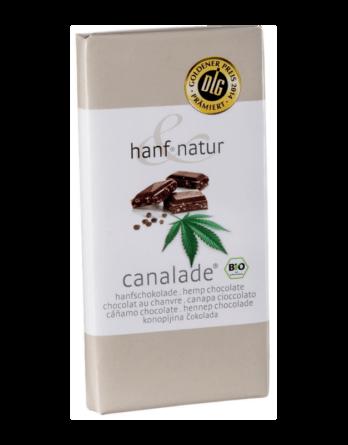 Chocolat au lait aux graines de chanvre