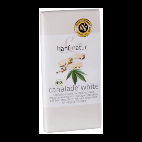 chocolat blanc aux graines de chanvre