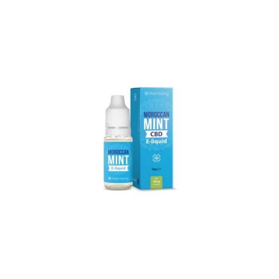 E-liquide au CBD saveur menthe