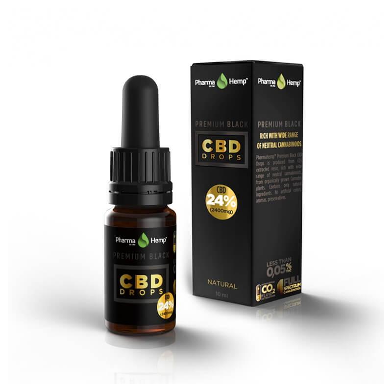 huile de cbd premium 24%